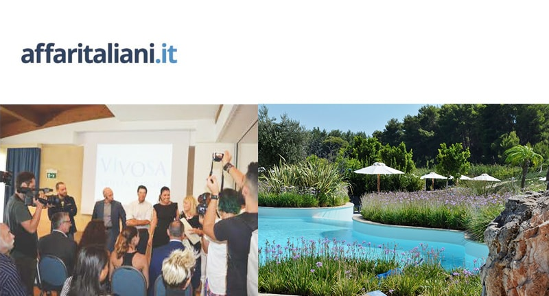 VIVOSA nuovo brand TUI per l'Apulia Resort in Salento