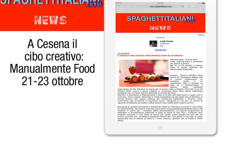 """Manualmente""… a tutto food!"