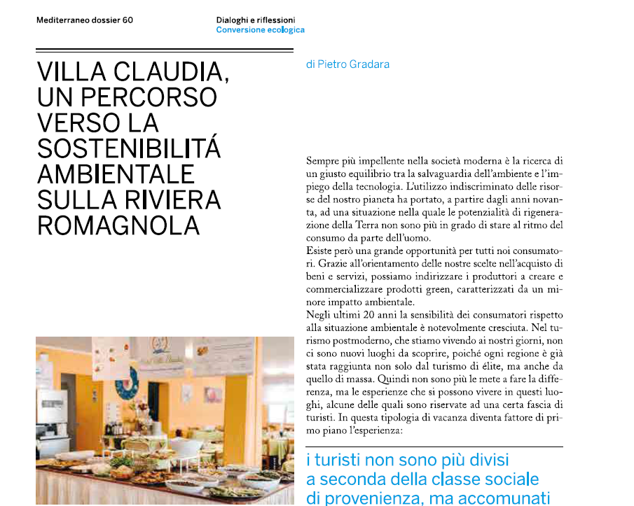 Meta vacanze: offerta sostenibile in Romagna