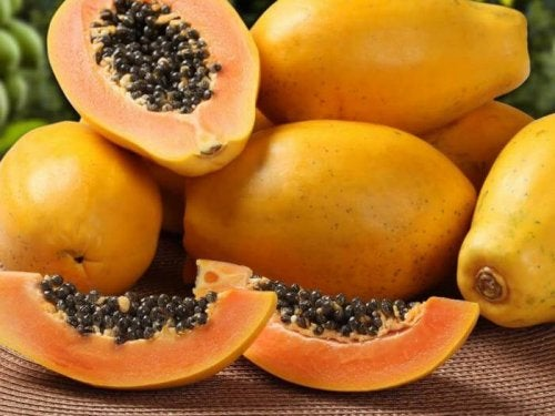 papaya detox healthy food