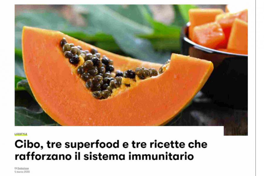 Le ricette che rafforzano il sistema immunitario, l'intervista su GQ